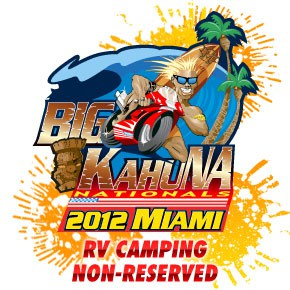 Big Kahuna Miami - Non-Reserved RV Camping Bundle